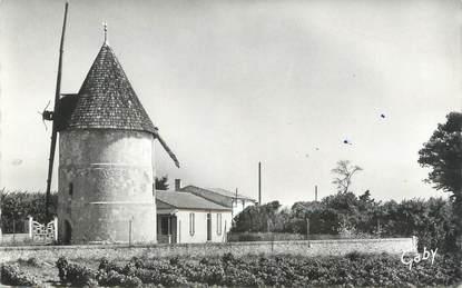 """.CPSM   FRANCE 17 """" Ile d'Oléron, La Bree, le moulin  """""""