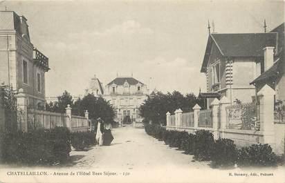 """.CPA   FRANCE 17 """" Chatelaillon,  Avenue de l'Hôtel Beau Séjour"""""""