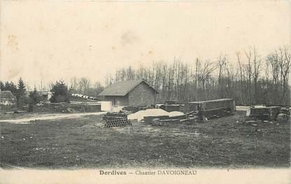 """CPA FRANCE 45 """"Dordives, Chantier Davoigneau"""" / QUINCAILLERIE"""
