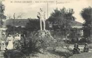 """17 Charente Maritime .CPA   FRANCE 17 """" Fouras les Bains, Statue de l'Amiral Pottier"""""""