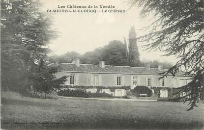 """.CPA  FRANCE 85 """"St Michel le Cloucq, Le château"""""""