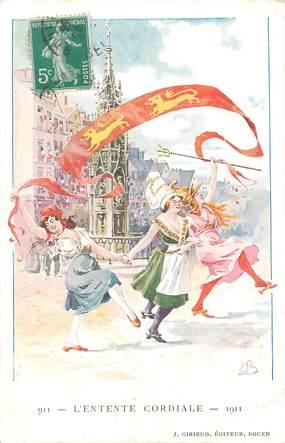 "CPA FRANCE 76 ""Rouen  1911"""