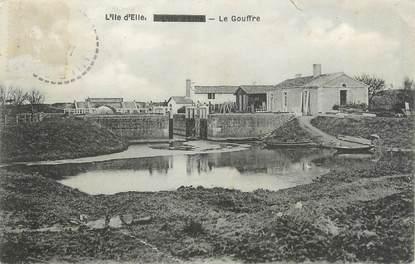 """.CPA  FRANCE 85  """"Ile d'Elle, Le Gouffre"""""""