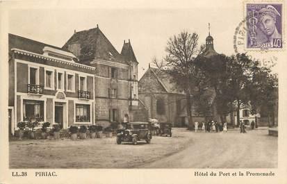 "CPA FRANCE 44 ""Piriac, Hotel du Port et la Promenade"""