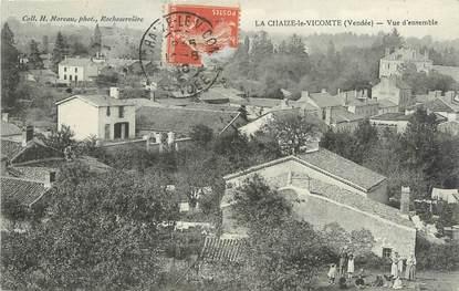 """.CPA  FRANCE 85  """"La Chaize le Vicomte, Vue d'ensemble"""""""