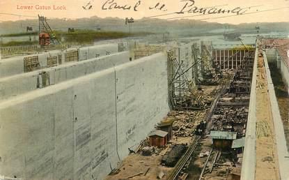 """CPA PANAMA """"Le canal du Panama"""""""