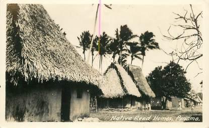 """CPA PANAMA """"Native reed Homes"""""""