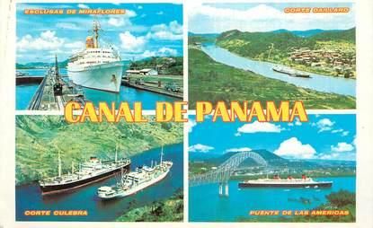"""CPSM PANAMA  """"le Canal du Panama"""""""