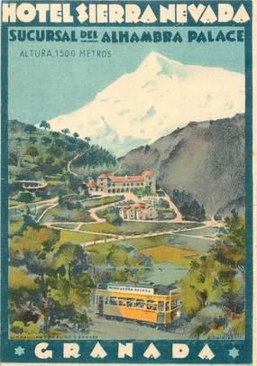 """CPA ESPAGNE """"Hotel Sierra Nevada, Granada"""""""