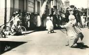 "Algerie CPSM ALGERIE ""Biskra, passage des Bassours"""