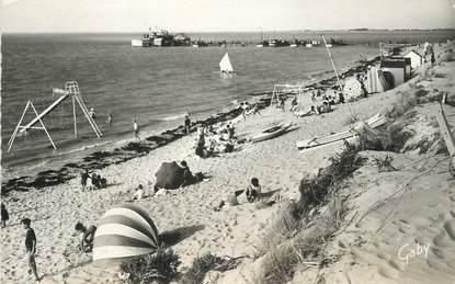 """.CPSM  FRANCE 85  """"Fromentine, La plage et la jetée  """""""