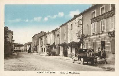 """CPA FRANCE 42 """"Sury le Comtal, rte de Montbrison"""""""