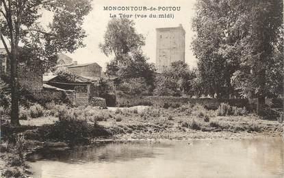 """. CPA FRANCE 86 """" Montcour de Poitou, La tour """""""