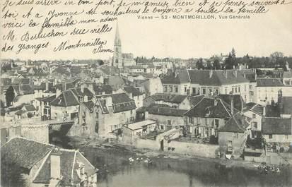 """. CPA  FRANCE 86 """" Montmorillon, Vue générale  """""""