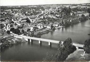 """. CPSM  FRANCE 86 """" Availles Limouzine, Le pont sur la Vienne"""""""