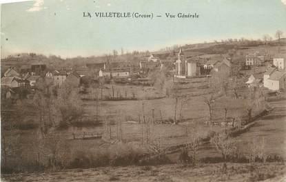 """. CPA  FRANCE 23 """"La Villetelle, Vue générale"""""""
