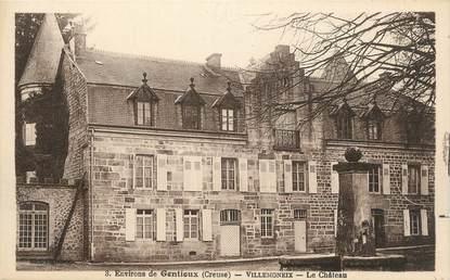 """. CPA  FRANCE 23 """"Villemoneix, Le château"""""""
