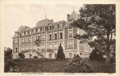 """. CPA  FRANCE 23 """" Environs de Vallières, Château du Plat"""""""