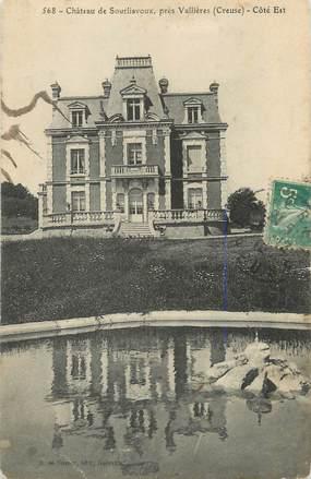 """. CPA  FRANCE 23 """"  Près Vallières, Château de Sourliavoux"""""""