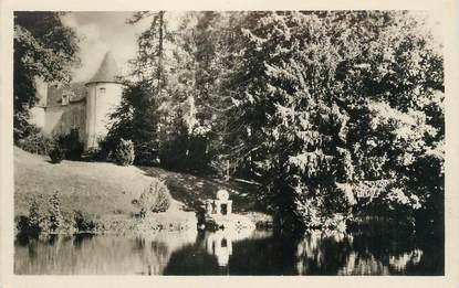 """. CPSM  FRANCE 23 """"  Vallières, Le lac et le château de la Villeneuve"""""""