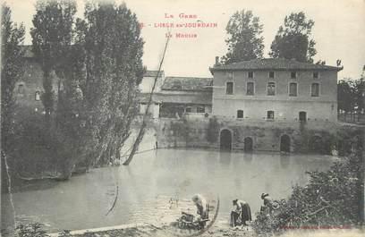 """. CPA  FRANCE 32 """"L'Isle  en Jourdain,  Le moulin"""""""