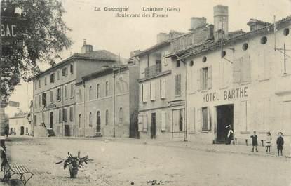 """. CPA FRANCE 32 """"  Lombez, Boulevard des Fossés"""""""