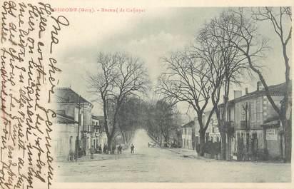 """. CPA FRANCE 32 """"  Gimont, Avenue de Cahuzac"""""""