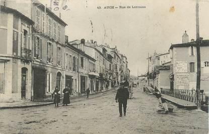 """. CPA FRANCE 32 """"  Auch, Rue de Lorraine"""""""