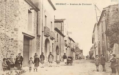 ". CPA FRANCE 34 ""Brignac, Avenue de Clermont"""