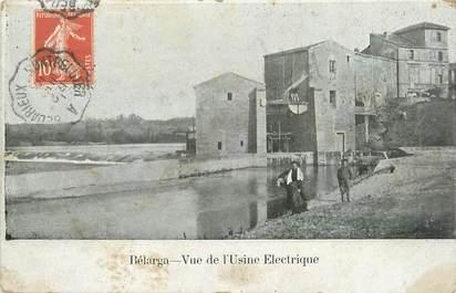 """. CPA FRANCE 34 """"Bélarga, Vue de l'usine électrique"""""""