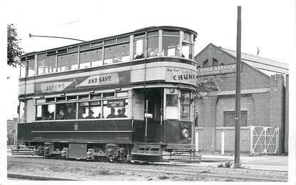 "CARTE  PHOTO  ROYAUME UNI   /  TRAMWAY / BUS ""Birmingham"""