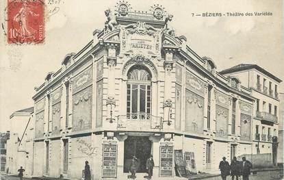 """. CPA FRANCE 34 """"Béziers, Théâtre des variétés"""""""