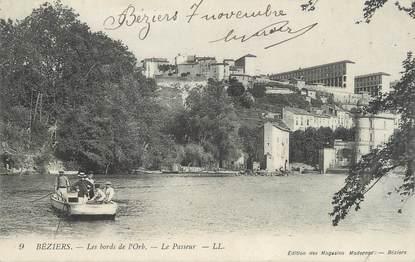 """. CPA FRANCE 34 """"Béziers, Les bords de l'Orb"""""""