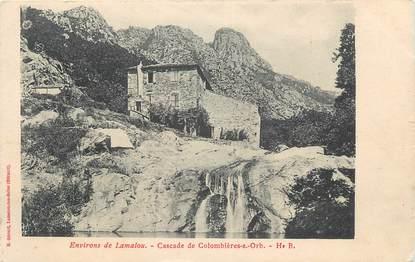 """.CPA FRANCE 34 """" Colombières  sur Orb, La cascade"""""""
