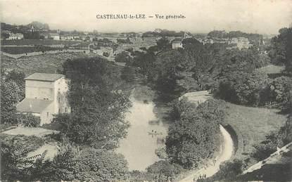 """.CPA FRANCE 34 """" Castelnau le Lez, Vue générale"""""""