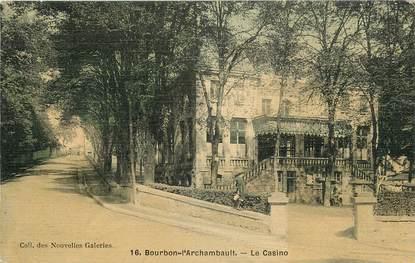 """CPA FRANCE 03 """"Bourbon l'Archambault, le casino"""""""