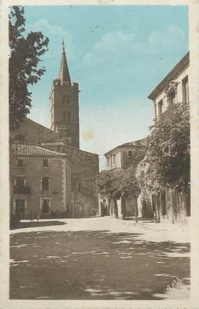 ".CPA  FRANCE 34 ""Cruzy,  L'église"""