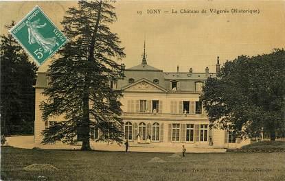 "CPA FRANCE 91 ""Igny, le chateau de Vilgenis"""