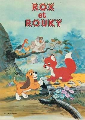 """CPSM DISNEY """"Rox et Rouky"""""""