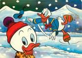 """Illustrateur  CPSM DISNEY   """"Donald et ses neveux"""""""