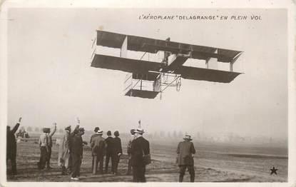 "CPA  AVIATION ""Aéroplane DELAGRANGE"""
