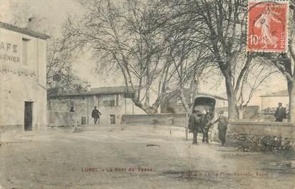 """.CPA  FRANCE 34 """"Lunel, Pont de Vesse"""""""