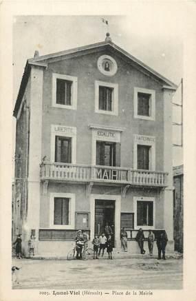 """.CPA  FRANCE 34 """"Lunel Viel , Place de la Mairie"""""""