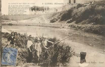 ".CPA  FRANCE 34 "" Lunel,  Pesca luna  """