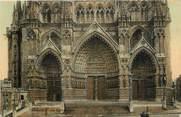 "80 Somme CPA FRANCE 80 ""Amiens, la cathédrale"""