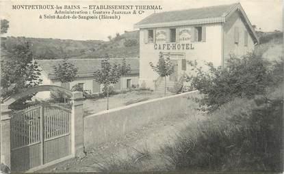 """.CPA  FRANCE 34 """" Montpeyroux les Bains, Etablissement thermal"""""""
