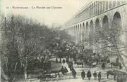 "34 Herault .CPA  FRANCE 34 ""  Montpellier, Le marché aux chevaux"""