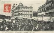 """34 Herault .CPA  FRANCE 34 """"   Montpellier, Le Grand Café et le marché aux vins"""""""