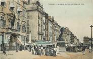 """83 Var CPA FRANCE 83 """"Toulon, le carré du Port et l'Hotel de ville"""""""