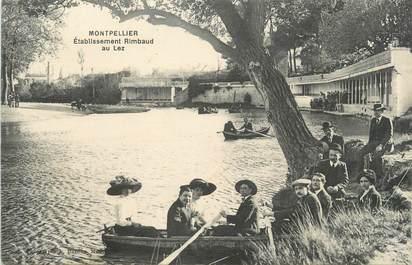 ".CPA  FRANCE 34 ""   Montpellier , Etablissement Rimbaud au Lez"""